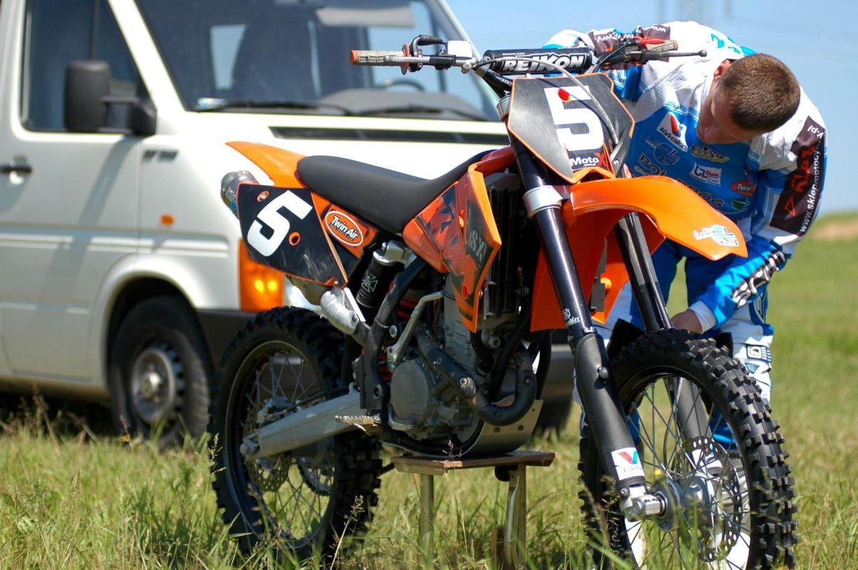 Przygotowanie motocykla