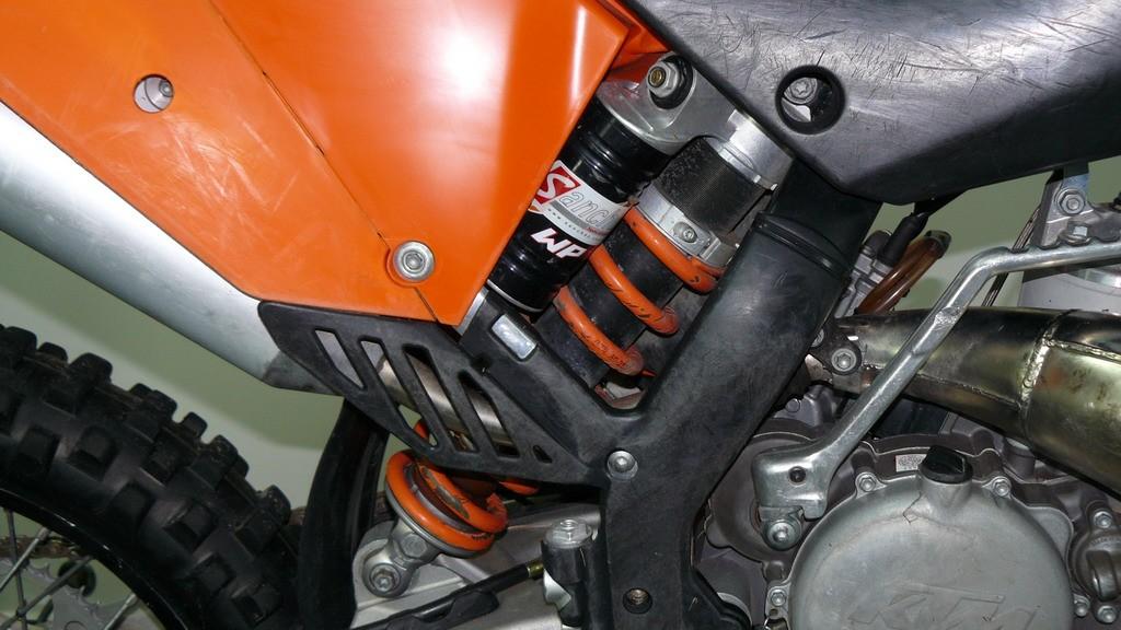 zawieszenie tylne motocross