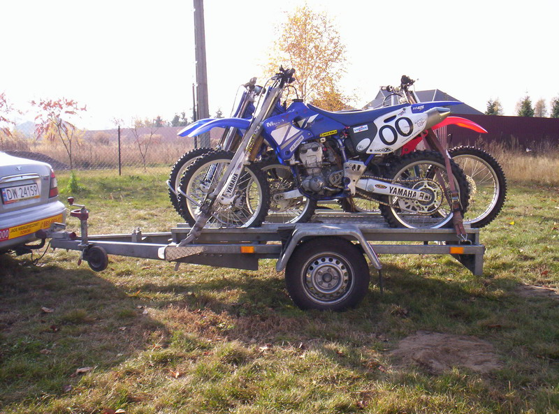 transport motocykla cross enduro