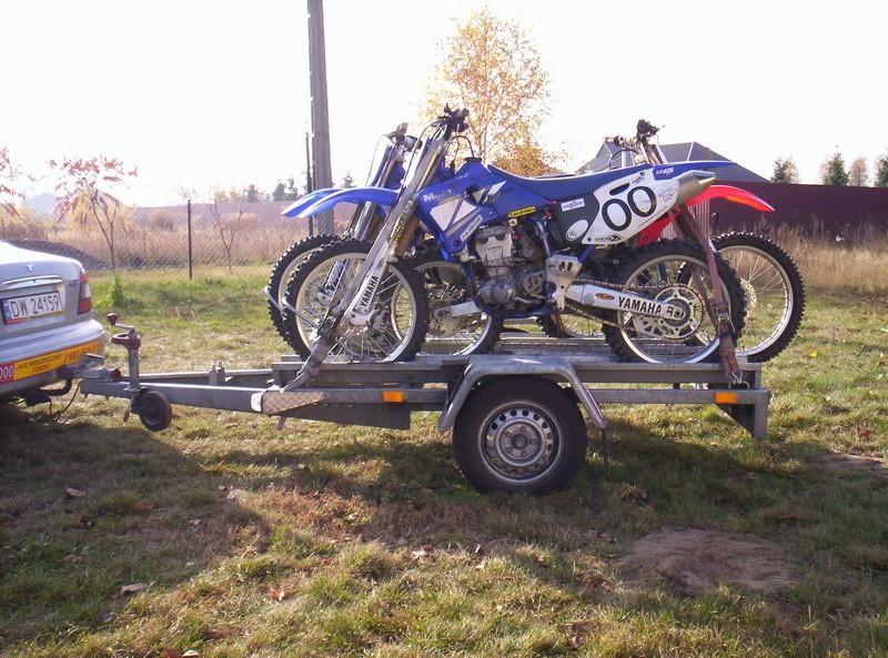 transport motocykla cross enduro