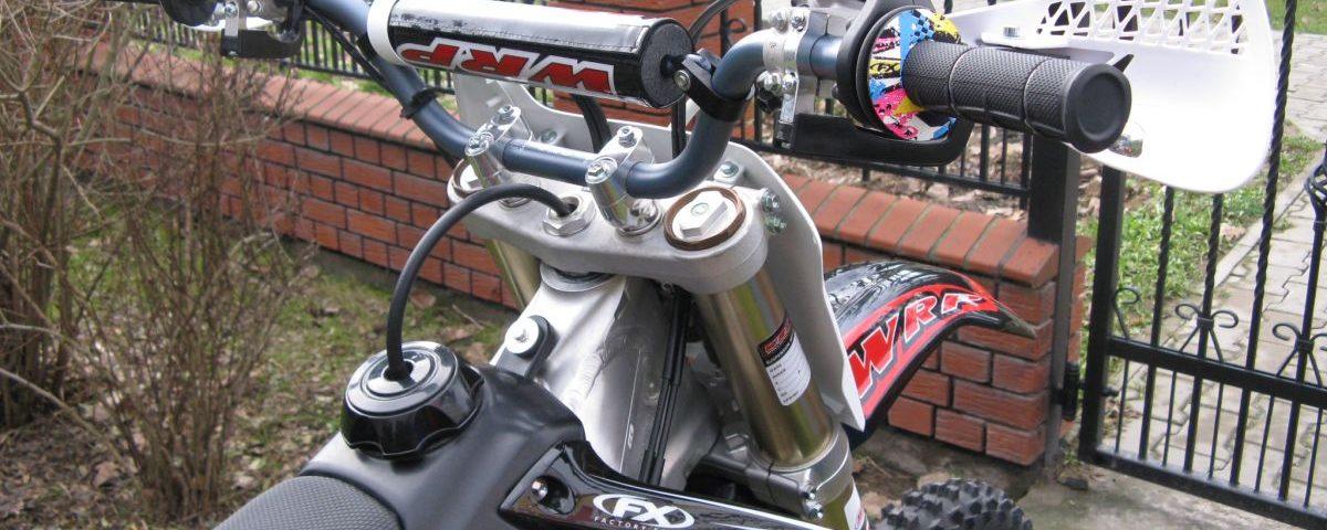 Zawieszenie przednie motocross